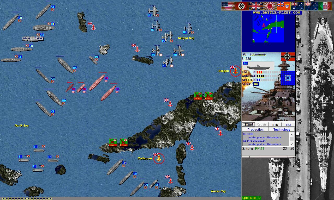 Battlefleet Naval Battleship Games
