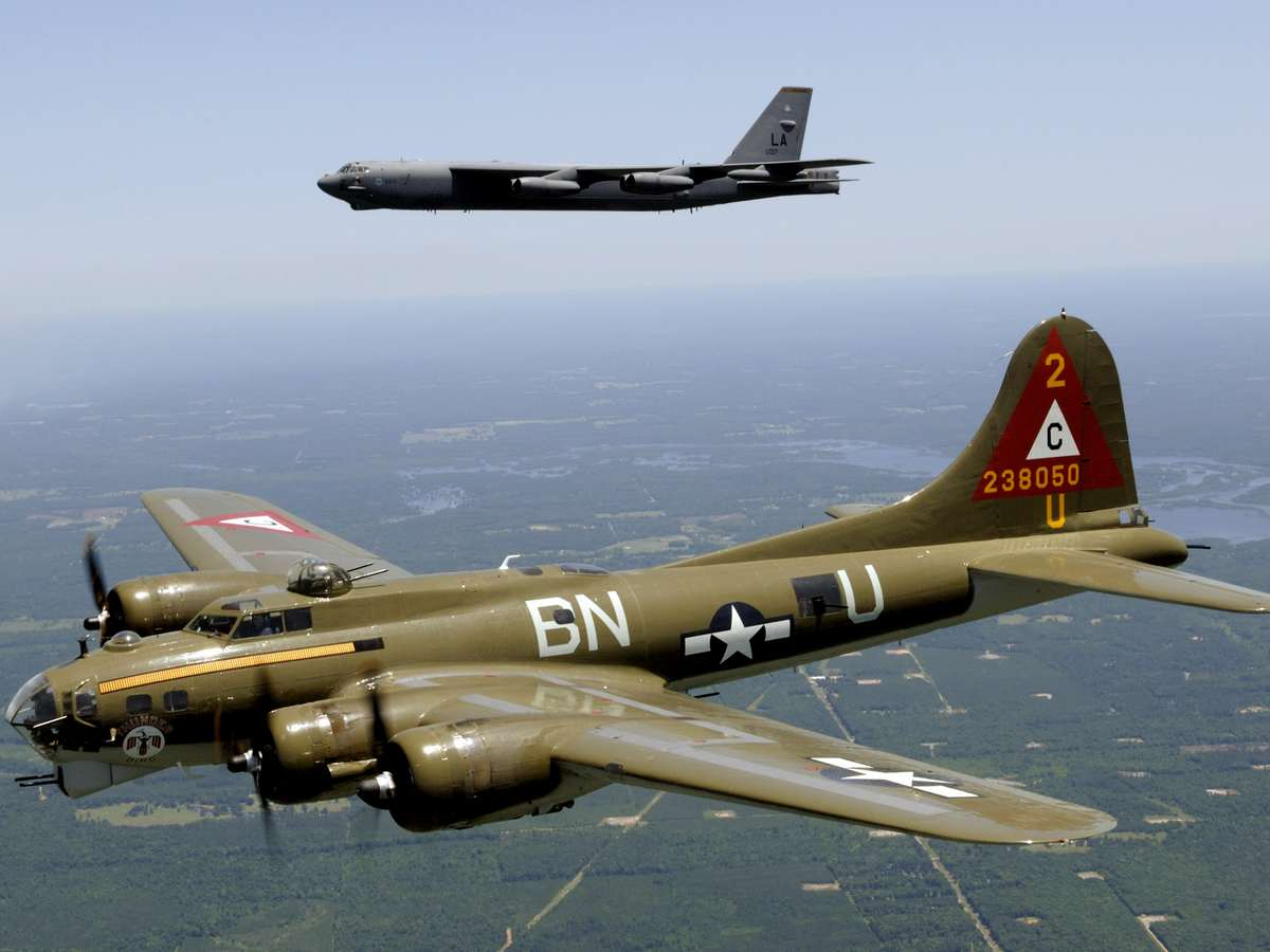 B17 Flying Fortress B-17
