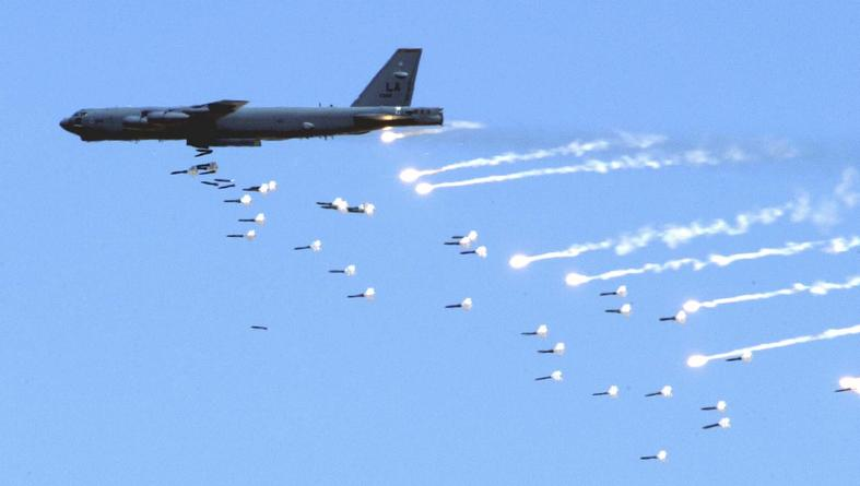 Dropping the MOAB B52