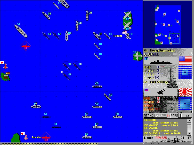 Conquer Island Game Ships Planes